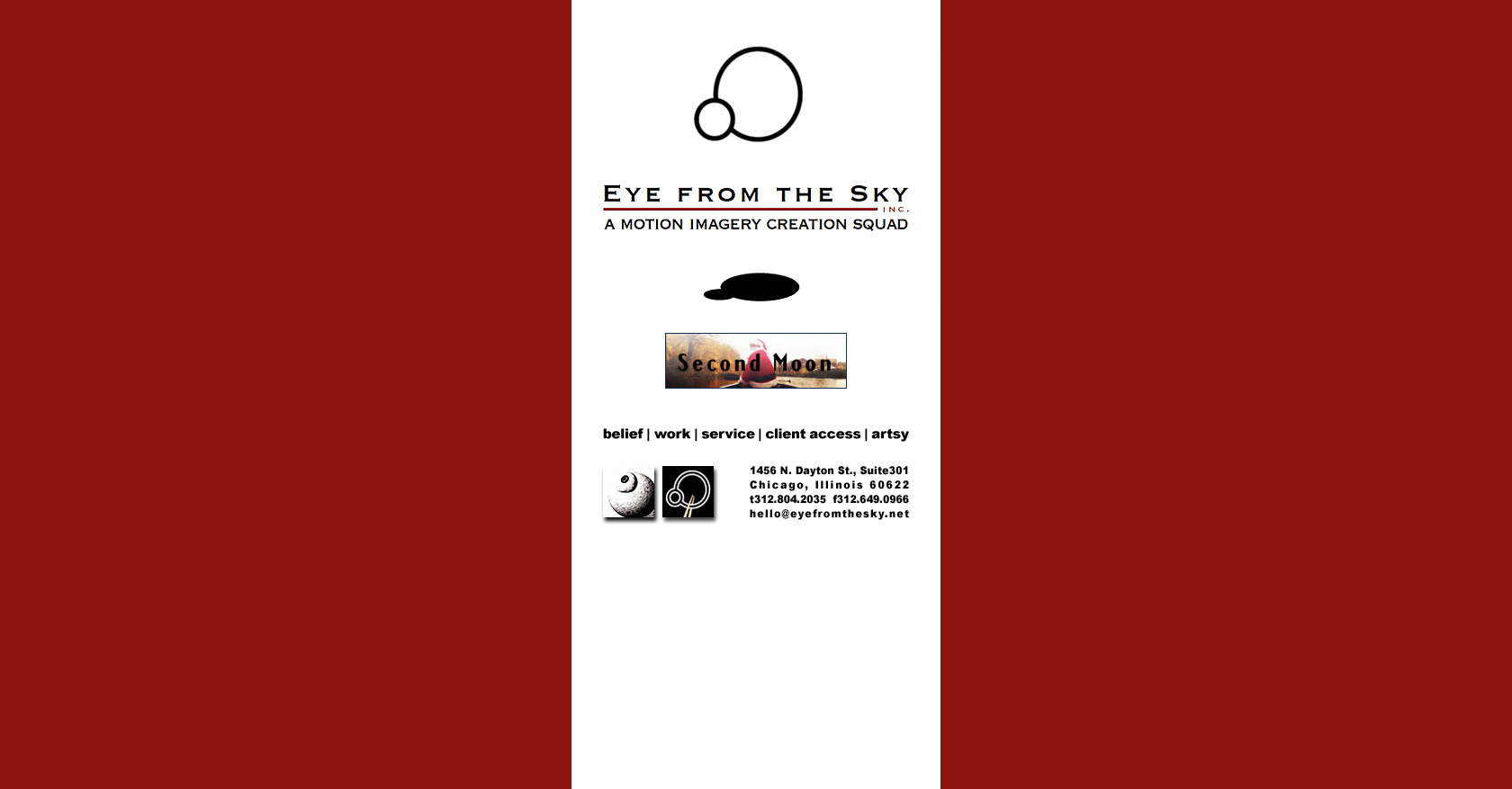 Eye from the Sky Inc.企業サイト